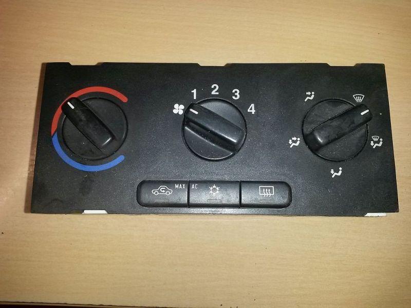 Bedienelement, Klimaanlage Heizungsregler OPEL ASTRA G CARAVAN (F35_) 1.7 DTI 16V 55 KW