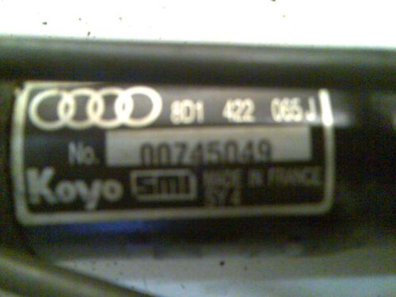 Lenkgetriebe Servo  AUDI A4 AVANT (8D5, B5) 1.9 TDI 66 KW