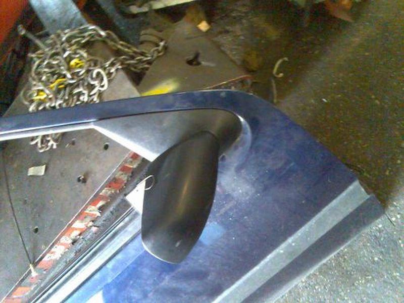 Außenspiegel rechts Außenspiegel rechts mechanischFORD FIESTA IV (JA_, JB_) 1.8 DI