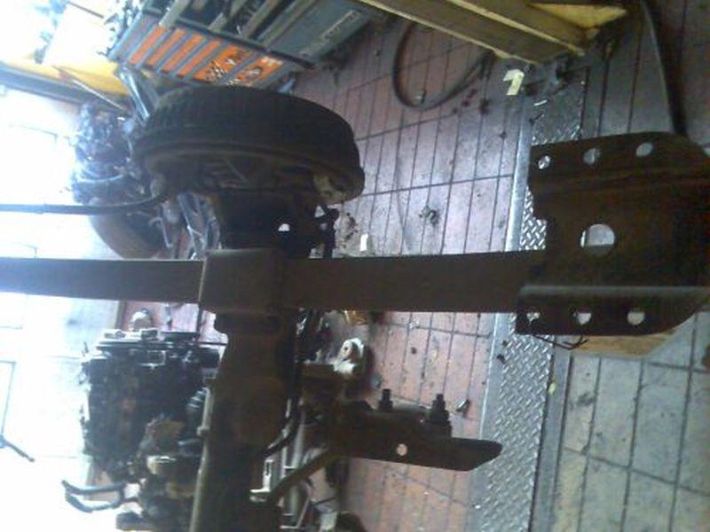 Blattfeder rechts hinten  CHRYSLER VOYAGER III (GS) 2.0I 98 KW