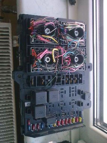 Sicherungskasten Zentralelektrikasten CHRYSLER VOYAGER III (GS) 2.0I 98 KW