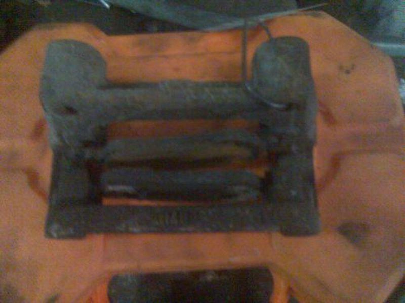 Bremssattelträger rechts hinten OPEL ZAFIRA (F75_) 2.0 DI 16V