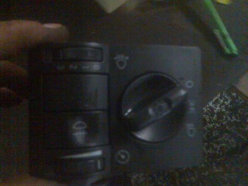 Schalter Licht LichthauptschalterOPEL CORSA C (F08, F68) 1.0