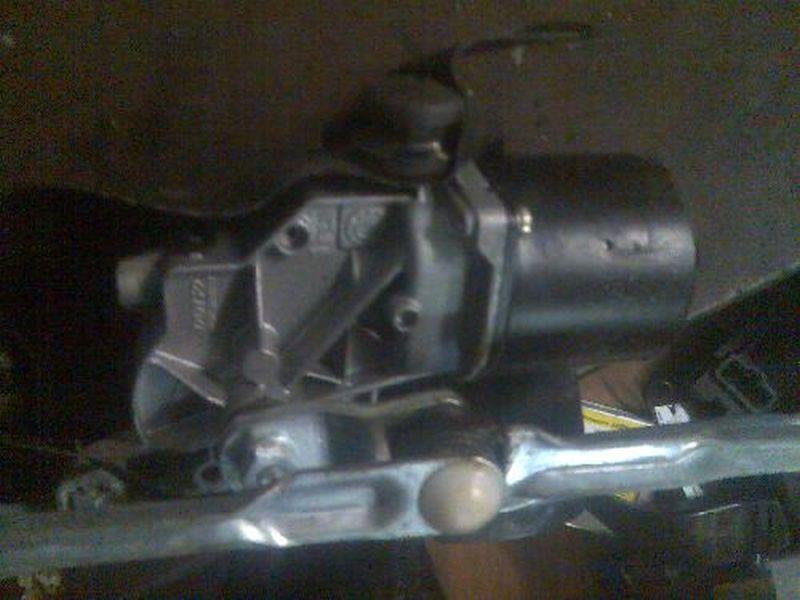 Wischermotor vorne mit WischergestängeFIAT PANDA (169) 1.2  4X4
