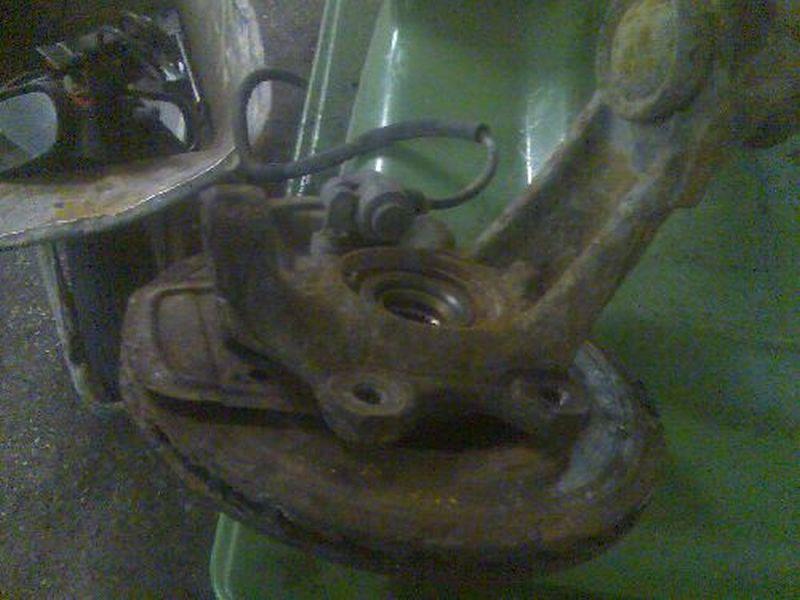 Achsschenkel links vorn Radlagergehäuse mit ABS-Sensor re.hi.OPEL ASTRA F (56_, 57_) 1.6 I