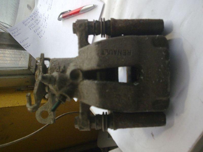 Bremssattel links hinten geprüfter Teil ist o.k. RENAULT MEGANE II GRANDTOUR SPORTWAY KMSE06 1.5 DCI 78 KW