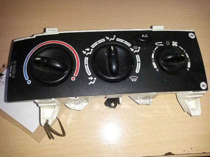 Bedienelement, Klimaanlage mechanisch geregelte Klimaanlage RENAULT SCENIC I (JA0/1_) 1.9 DTI 72 KW