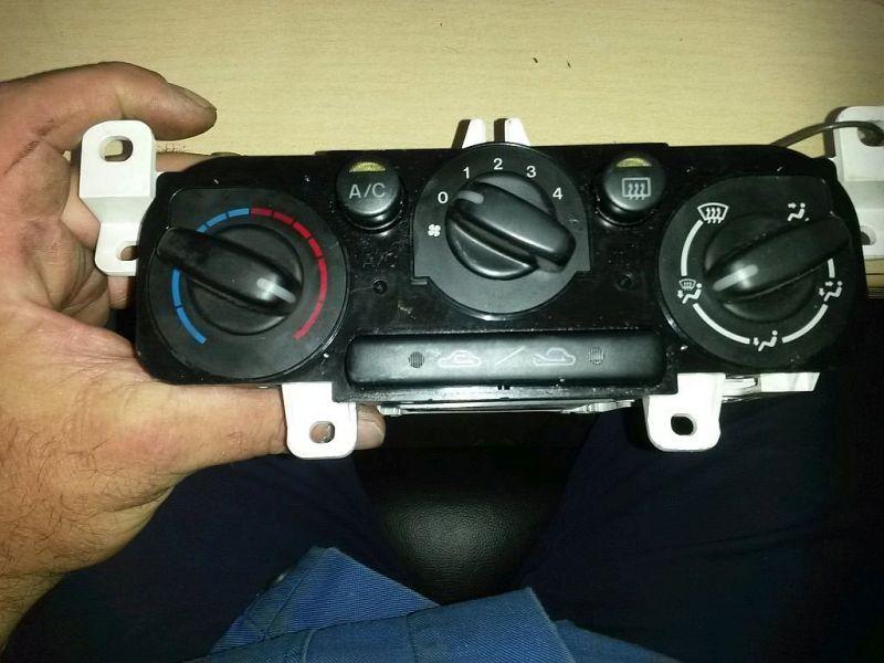 Bedienelement, Klimaanlage mechanische KlimaanlageMAZDA 323 F VI (BJ) 2.0 DITD EXCLUSIVE