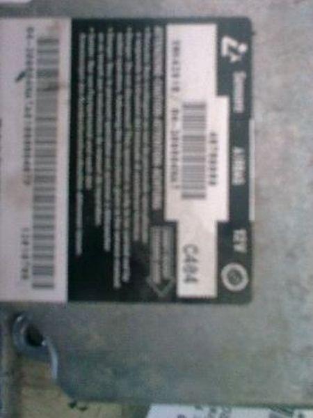 Steuergerät Airbag FIAT BRAVO (182) 1.2 16V 80