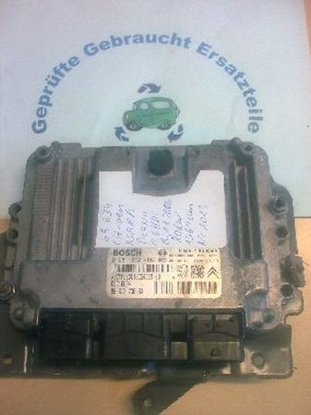 Steuergerät Dieseleinspritzanlage geprüftes Ersatzteil CITROEN XSARA PICASSO (N68) 1.6 HDI 80 KW