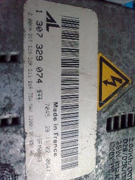 Steuergerät Xenonscheinwerfer  BMW 3 CABRIOLET (E46) 318 CI 105 KW