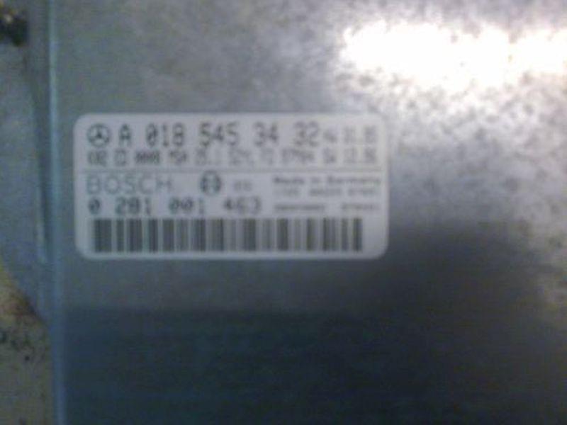 Steuergerät Dieseleinspritzanlage Zündschloss nicht vorhandenMERCEDES-BENZ C-CLASS KOMBI (S202) C 250 T T