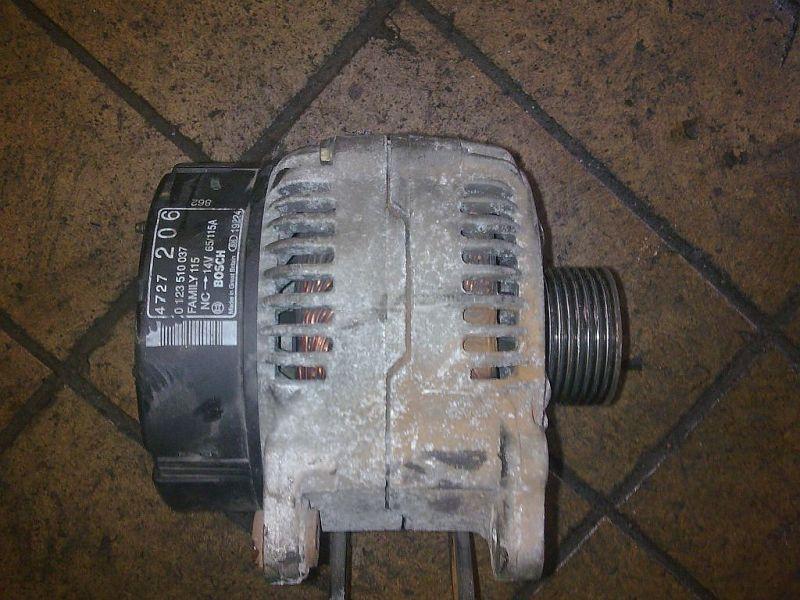 Lichtmaschine ohne Rollenfreilauf CHRYSLER VOYAGER III (GS) 2.5 TD 85 KW