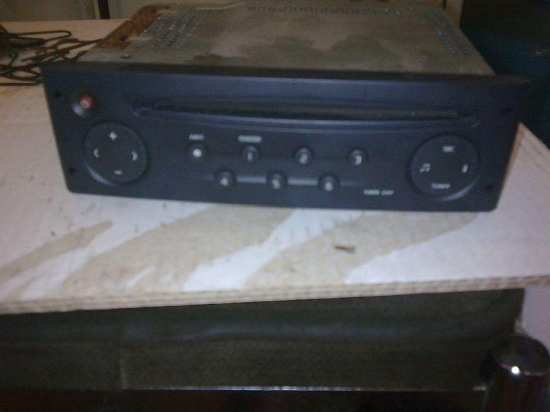 CD-Radio Original Renault RadioRENAULT CLIO II (BB0/1/2_, CB0/1/2_) 1.2