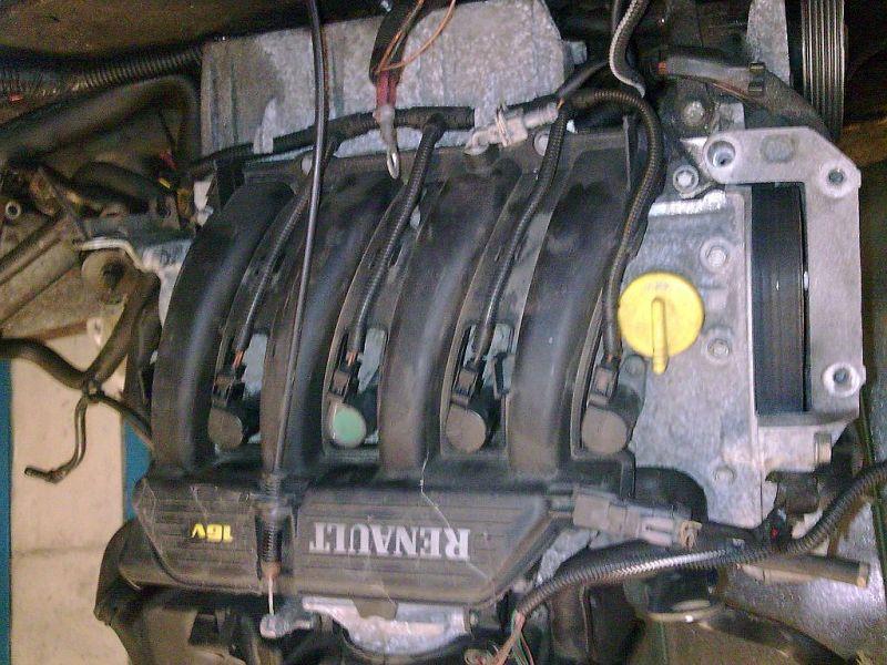 Motor ohne Anbauteile RENAULT MEGANE GRANDTOUR (KA0/1_) 1.4