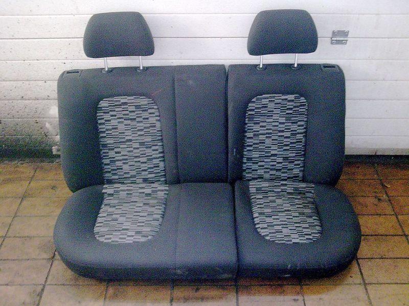 Rücksitzbank Stoff geteilt Rücksitz für KombiSKODA FABIA COMBI (6Y5) 1.4 16V