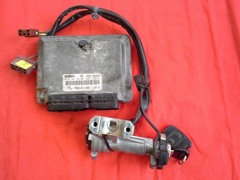 Steuergerät Motor mit Zündschloss ROVER 45 (RT) 2.0 IDT 74 KW