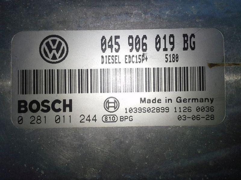 Steuergerät Dieseleinspritzanlage SEAT IBIZA IV (6L1) 1.4 TDI FRESH
