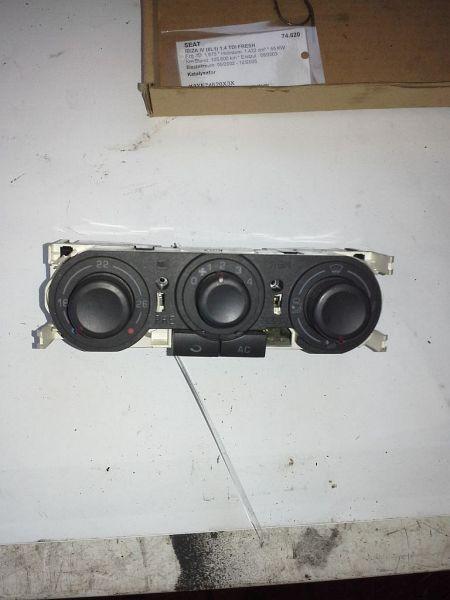Bedienelement Klimaanlage SEAT IBIZA IV (6L1) 1.4 TDI FRESH
