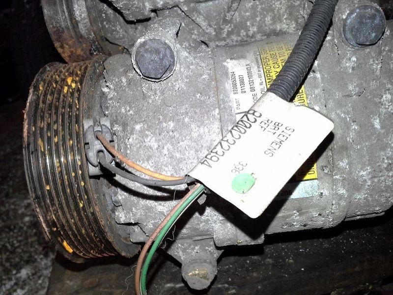 Klimakompressor RENAULT MEGANE II (BM0/1_, CM0/1_) 1.9 DCI