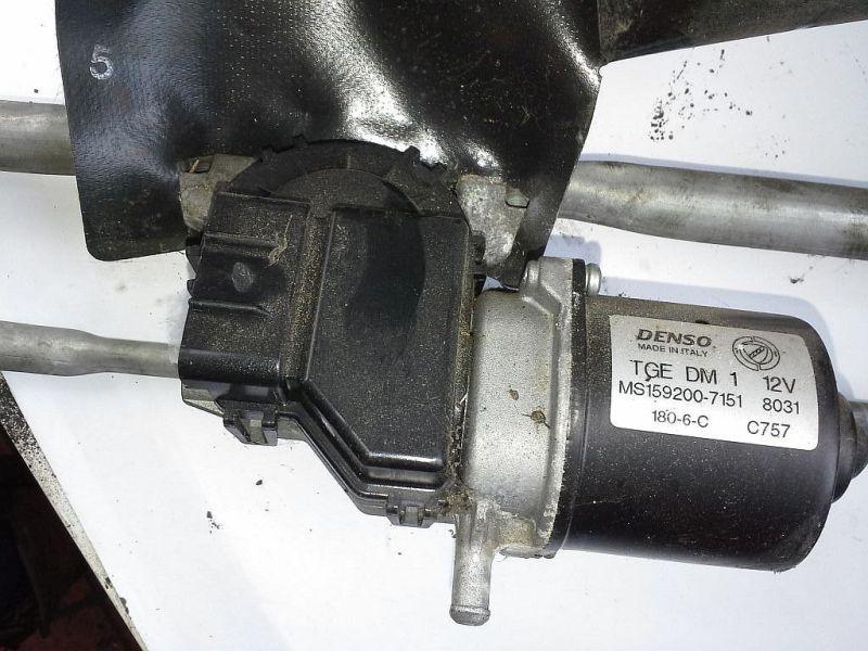 Wischermotor vorne mit WischergestängeFIAT PANDA (169) 1.1