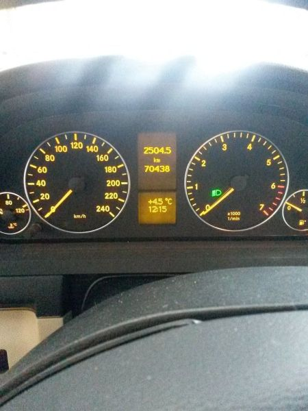 Motor ohne Anbauteile geprüfter gebraucht Motor MERCEDES-BENZ A-KLASSE (W169) A 150 70 KW