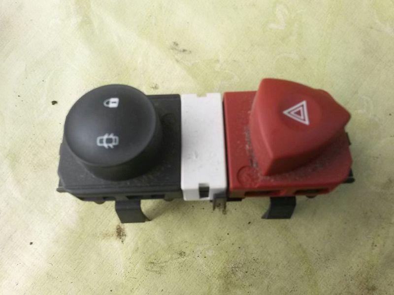 Schalter Warnblinker  RENAULT SCENIC II (JM0/1_) 1.5 DCI 76 KW