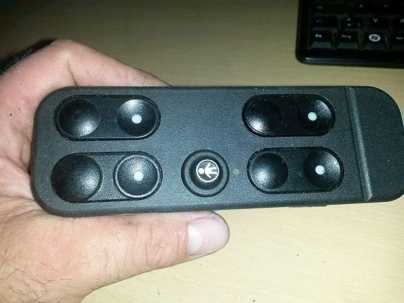 Schalter Fensterheber PKW hat vorne + hinten elektrische Fensterheber OPEL VECTRA A (86_, 87_) 1.6I 52 KW