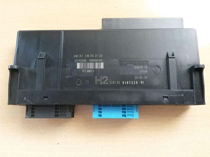 Steuergerät Zentralverriegelung Steuergerät Grundmodul Junctionbox BMW 1 (E87) 116I 89 KW