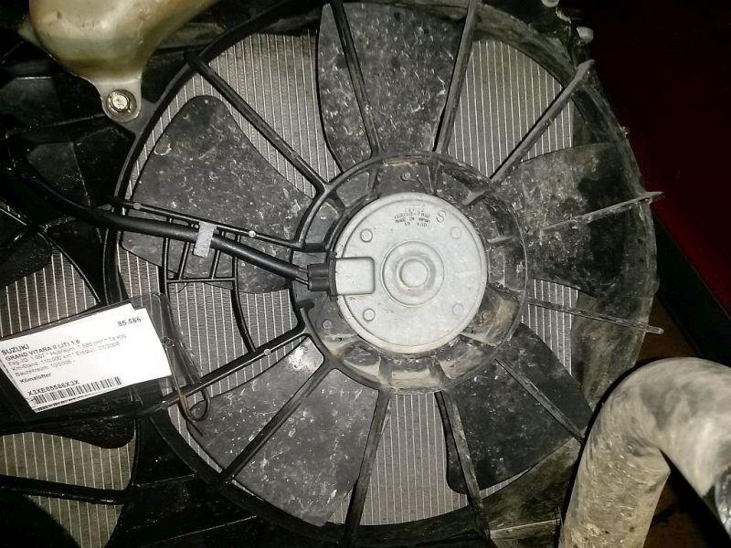 Elektromotor, Kühlerlüfter  SUZUKI GRAND VITARA II (JT) 1.6 78 KW