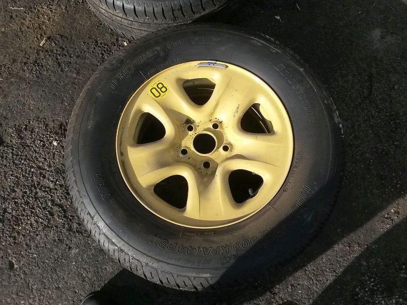 Reifen auf Stahlfelge Reserverad SUZUKI GRAND VITARA II (JT) 1.6 78 KW