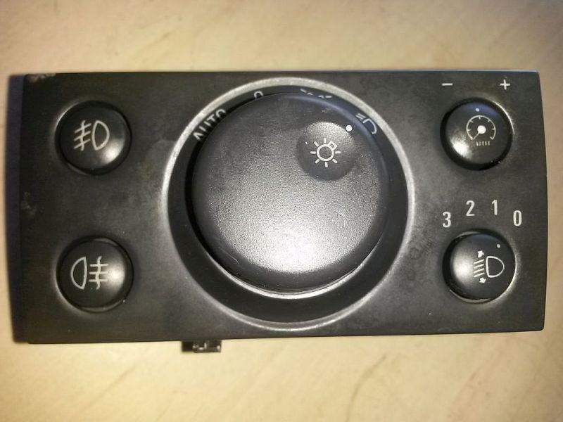Schalter Licht PkW hat Nebelscheinwerfer OPEL VECTRA C 1.9 CDTI (VAUXHALL) 110 KW