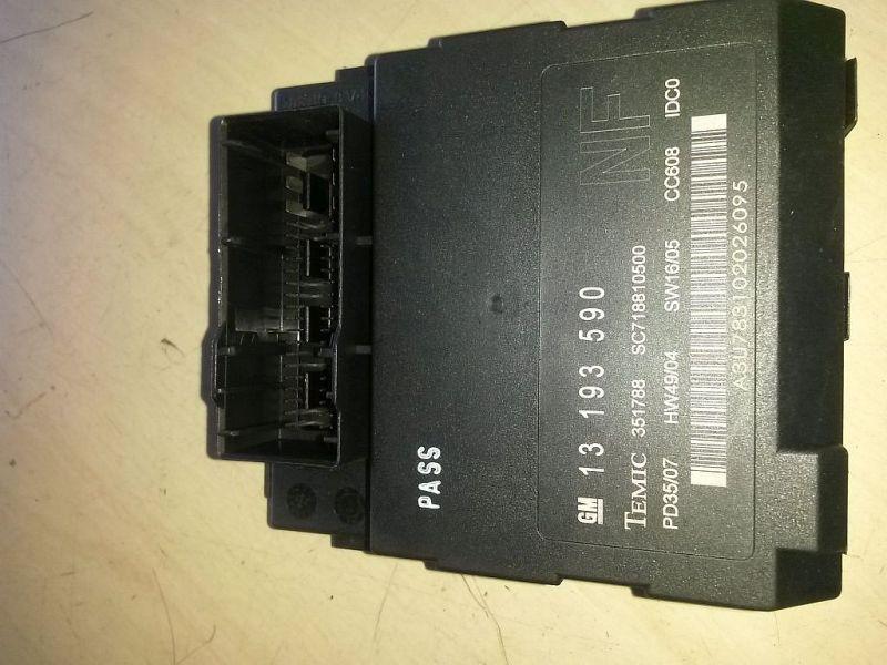 Steuergerät Body Control Module Bordnetz Steuergerät OPEL VECTRA C 1.9 CDTI (VAUXHALL) 110 KW