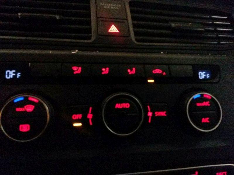 Bedienelement, Klimaanlage  VW CADDY IV KASTEN MAXI 2.0 TDI 75 KW