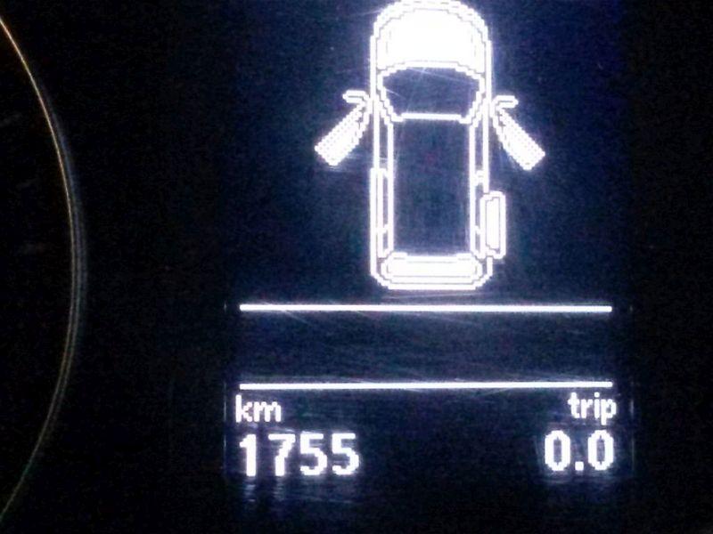 Bremssattel links vorn  VW CADDY IV KASTEN MAXI 2.0 TDI 75 KW