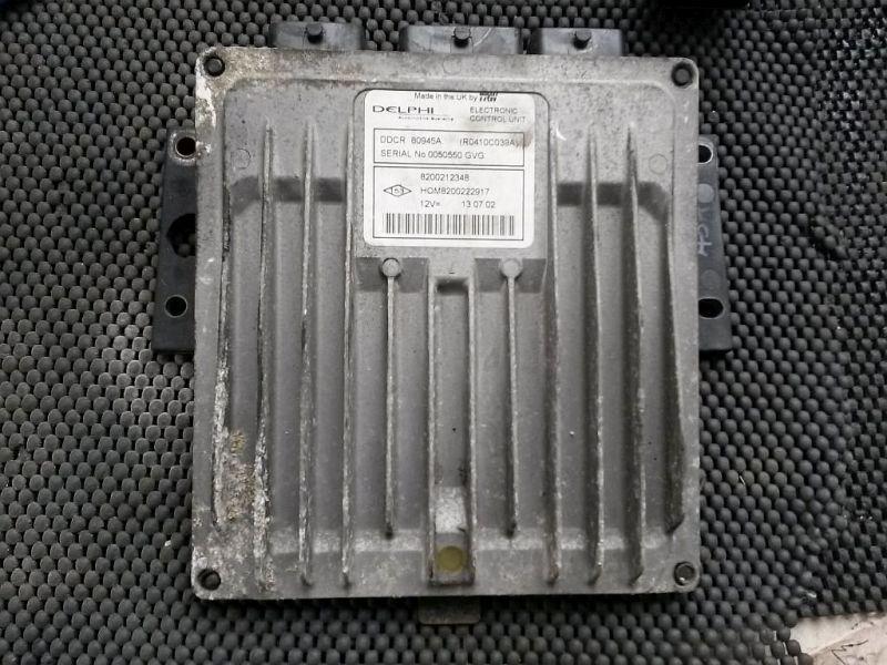 Steuergerät Motor geprüftes Steuergerät RENAULT CLIO II (BB0/1/2_, CB0/1/2_) 1.5 DCI 60 KW