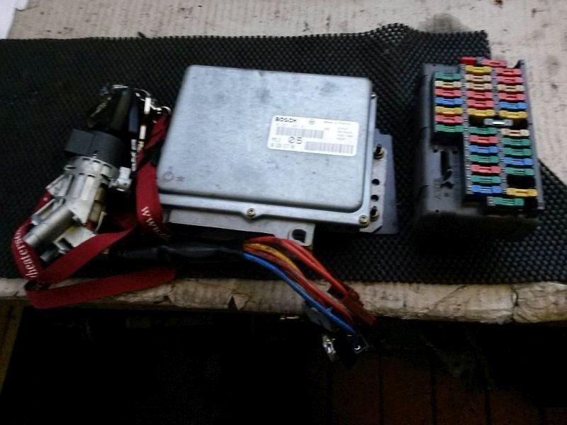 Steuergerät Motor geprüftes Steuergerät PEUGEOT 406 COUPE (8C) 2.0 16V 97 KW