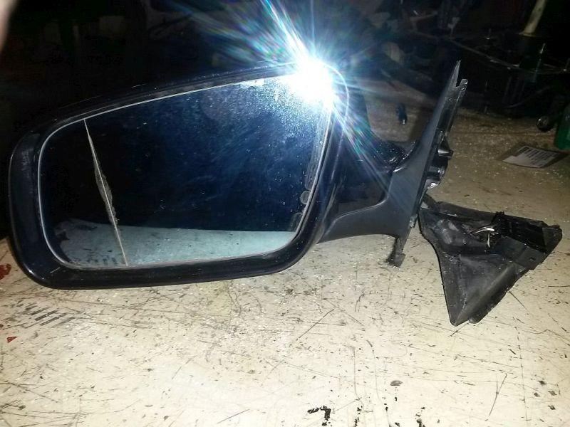 Außenspiegel elektrisch lackiert links mit asphärischen Glas AUDI A4 (8D2, B5) 1.9 TDI 66 KW