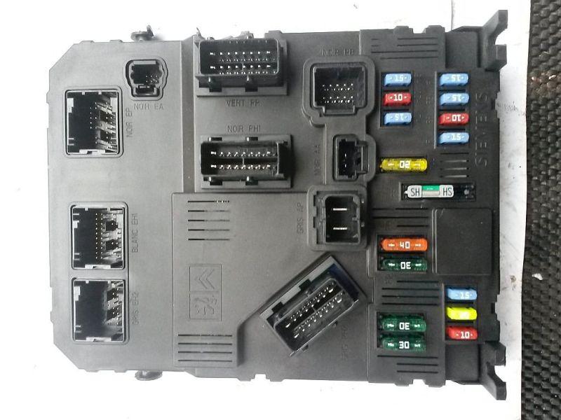 Sicherungskasten  CITROEN XSARA PICASSO (N68) 1.6 70 KW