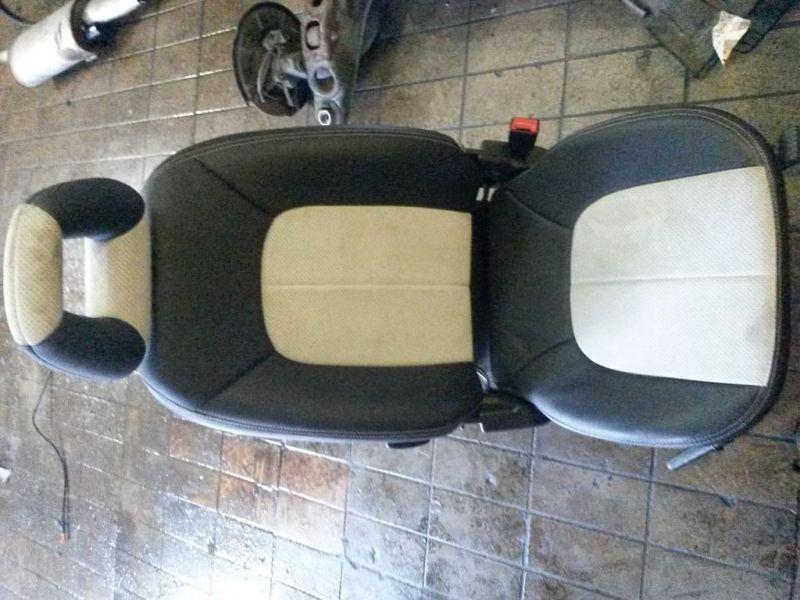 Sitz rechts Teilledersitz hinten rechts MERCEDES-BENZ A-KLASSE (W168) A 210 LANG EVOLUTION 103 KW