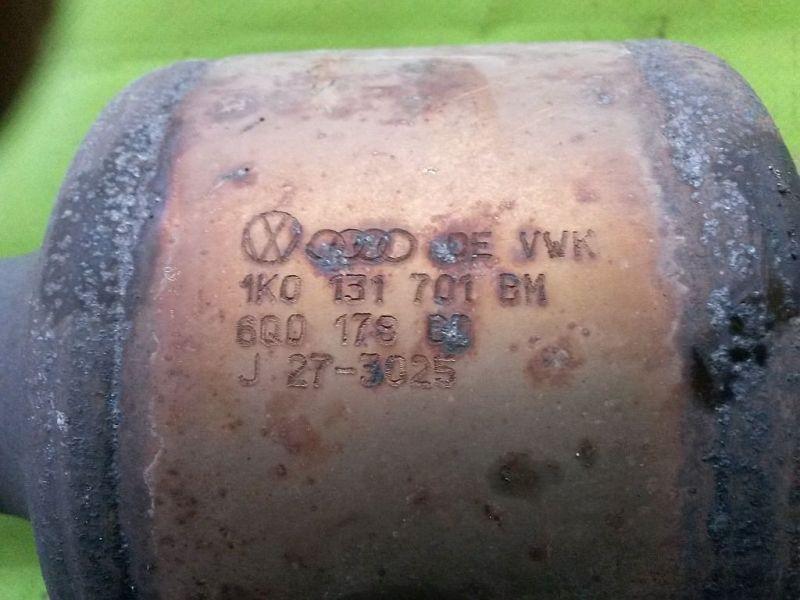 Katalysator (geregelt)  SEAT ALTEA (5P1) 1.4 16V MPI 63 KW