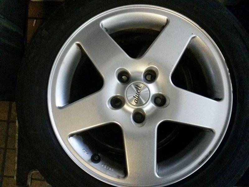 Alufelgen Satz ohne Reifen SEAT ALTEA (5P1) 1.4 16V MPI 63 KW