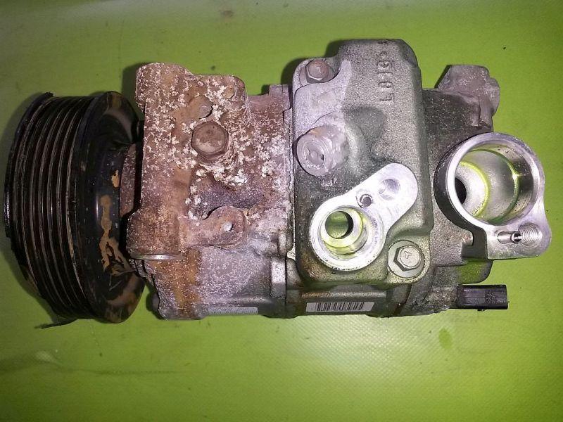 Klimakompressor Riemenrad defekt SEAT ALTEA (5P1) 1.4 16V MPI 63 KW