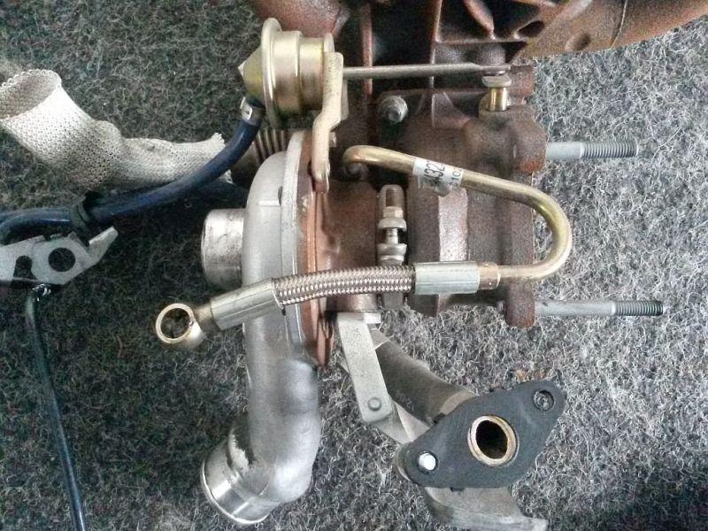 Turbolader  FIAT PUNTO (188) 1.9 JTD 80 59 KW