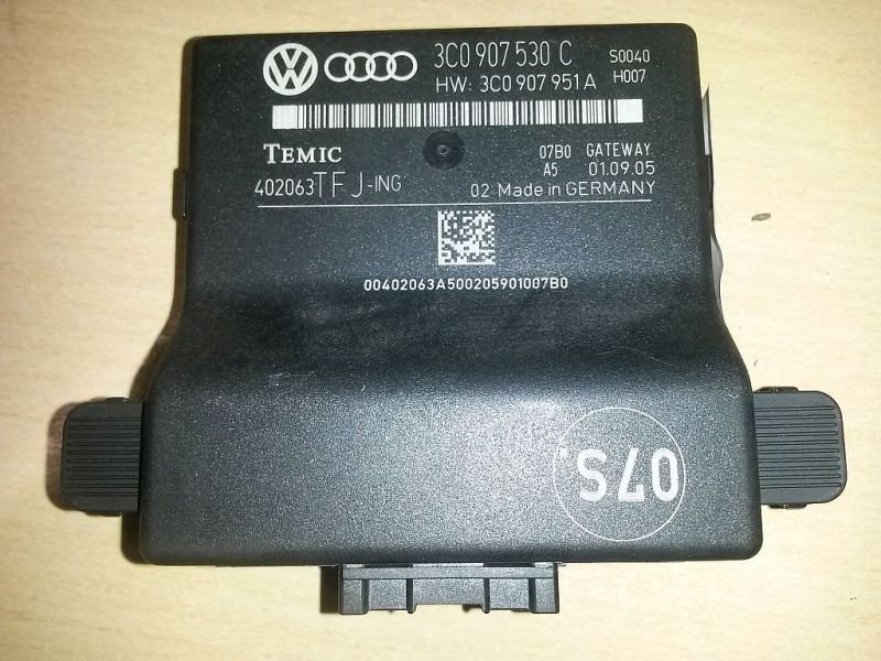 Steuergerät Steuergerät Gateway VW PASSAT VARIANT (3C5) 1.9 TDI 77 KW
