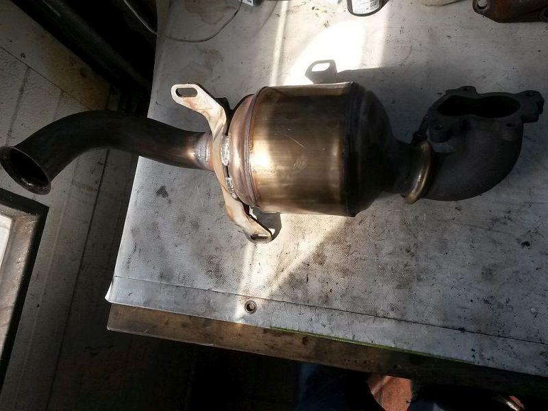 Katalysator (geregelt)  PEUGEOT 206 SW (2E/K) 1.4 HDI 50 KW