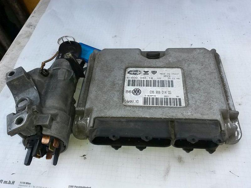 Steuergerät Motor  VW GOLF IV (1J1) 1.4 16V 55 KW