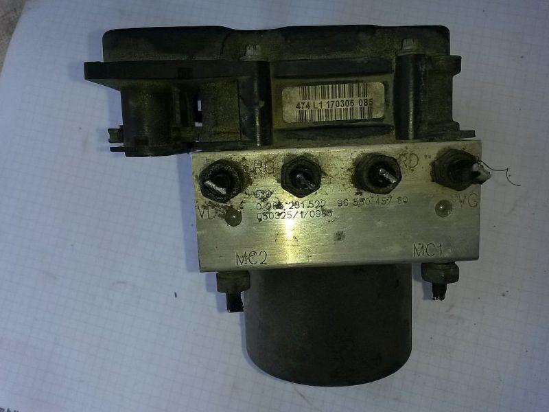 Bremsaggregat ABS  CITROEN BERLINGO (MF) 2.0 HDI 90 66 KW