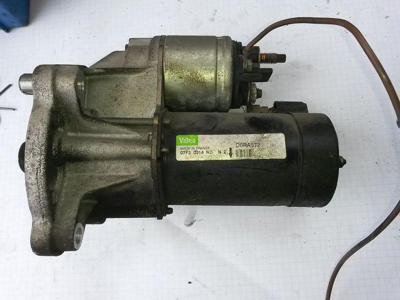 Anlasser Starter PEUGEOT 206 SCHRÄGHECK (2A/C) 1.4I 55 KW