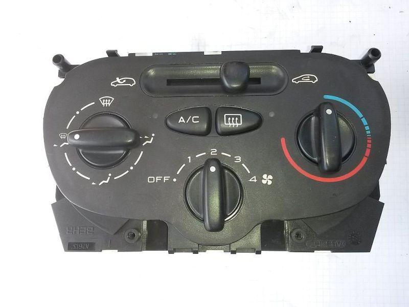 Bedienelement, Klimaanlage  PEUGEOT 206 SCHRÄGHECK (2A/C) 1.4I 55 KW